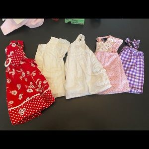 Baby Gap Lot Girl 18-24 months dress tops Shirts.